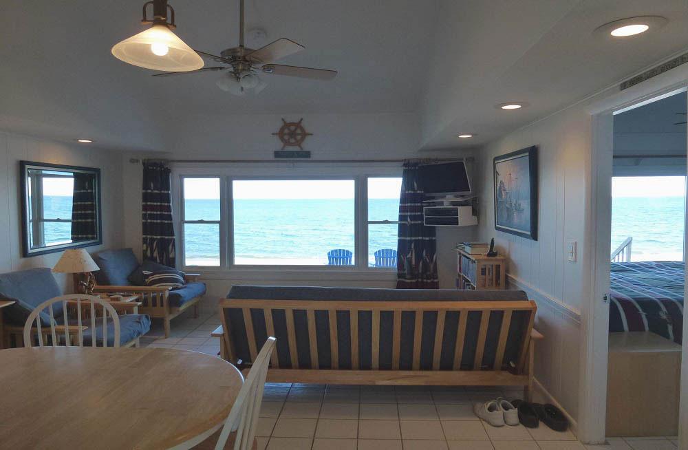 Beachfront 2 bedroom condominium.