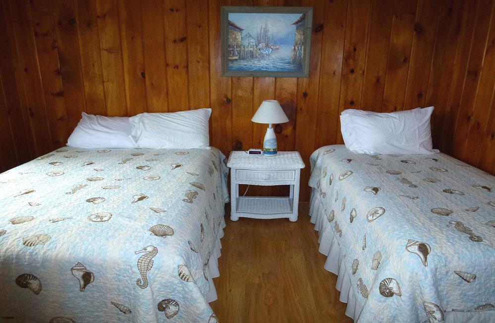 Beach access 2 bedroom condominium.